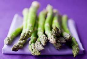 Asparagus folic acid source